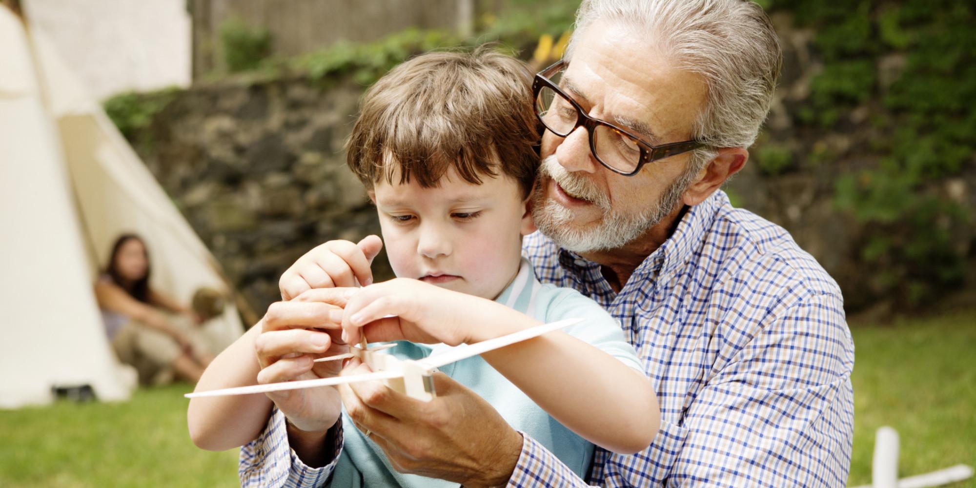 grandparents scold grandchildren