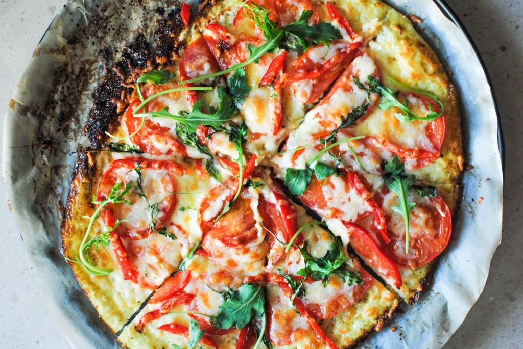base de pizza de claras | egg white pizza base