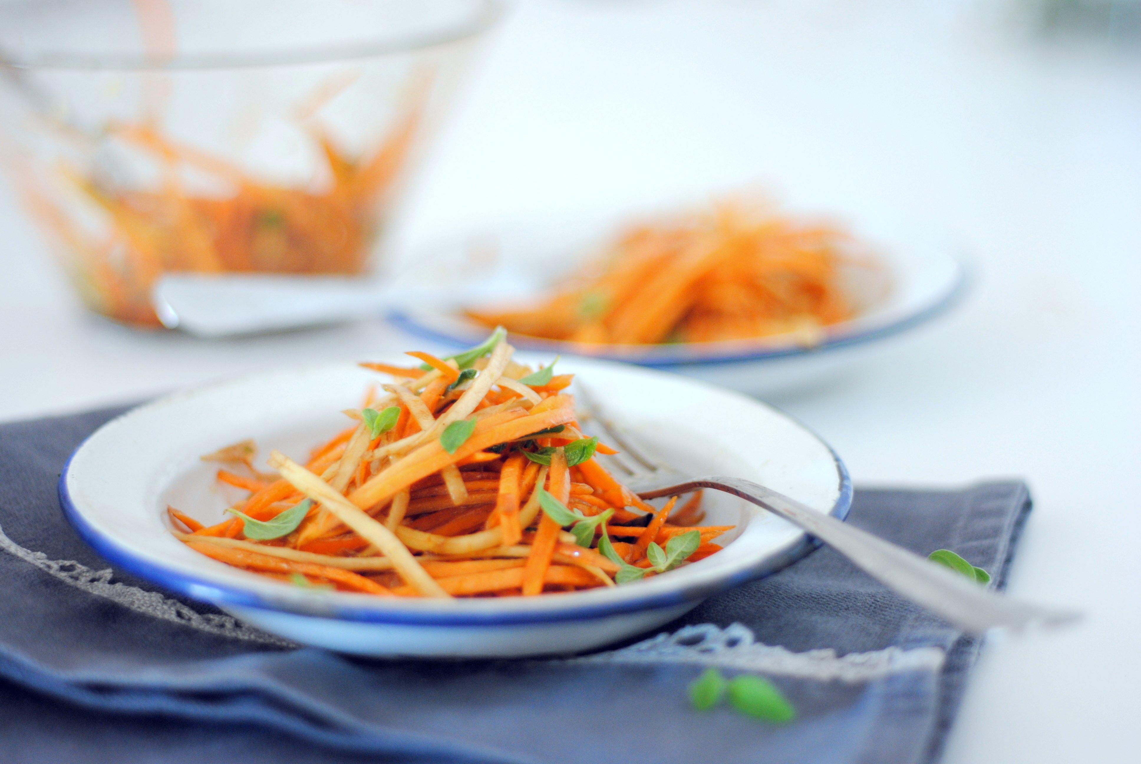 Salada de cenouras