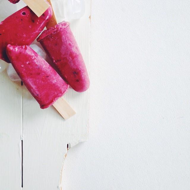 Do meu IG #4 : Gelado de frutos vermelhos