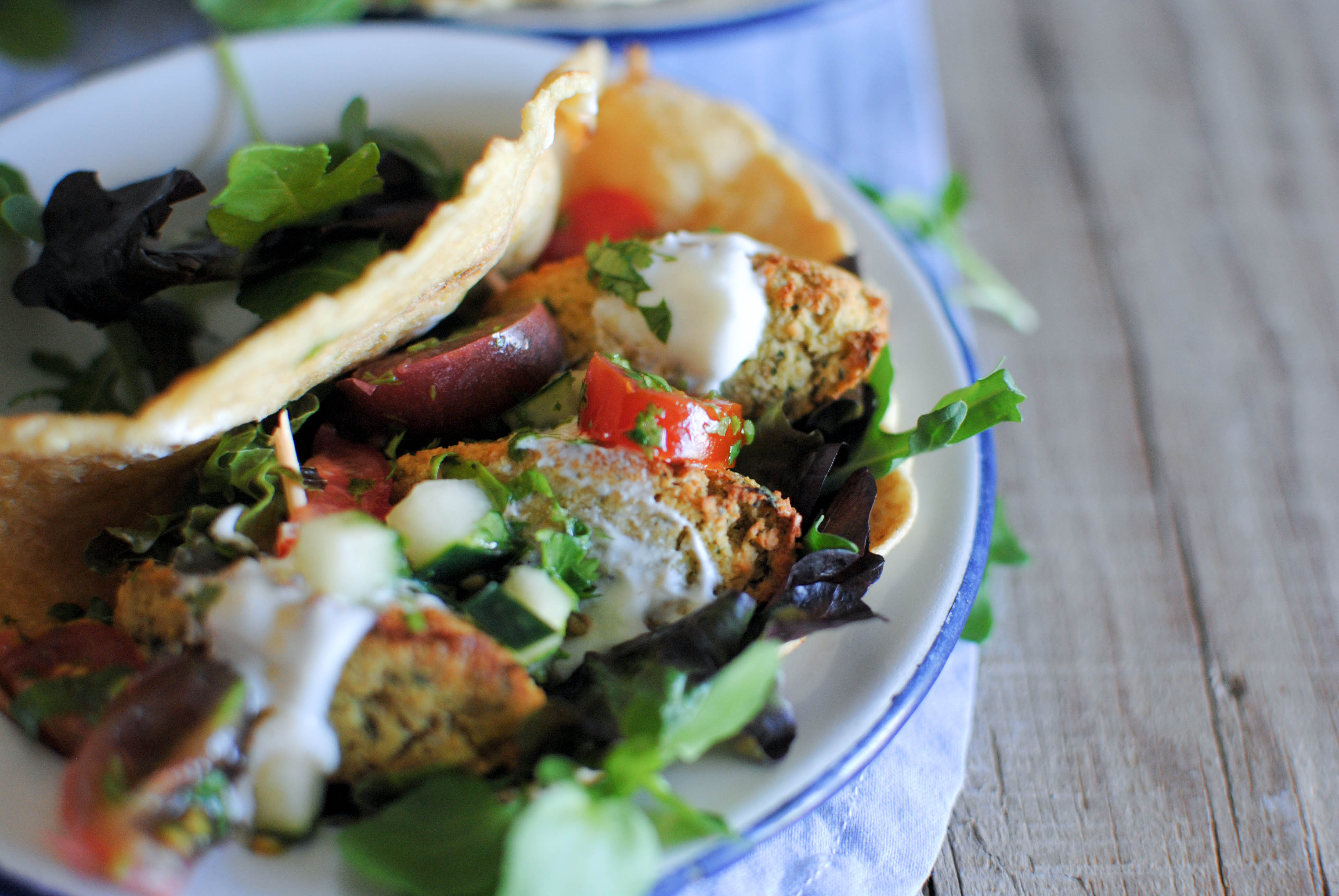 Falafel (vegan e sem glúten)