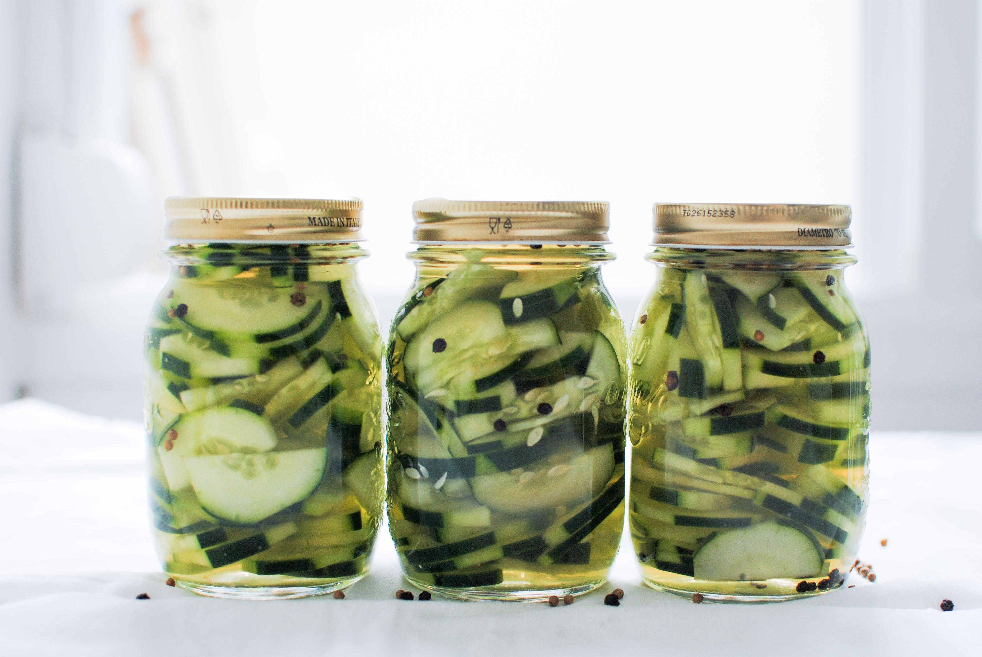 Pickles caseiros