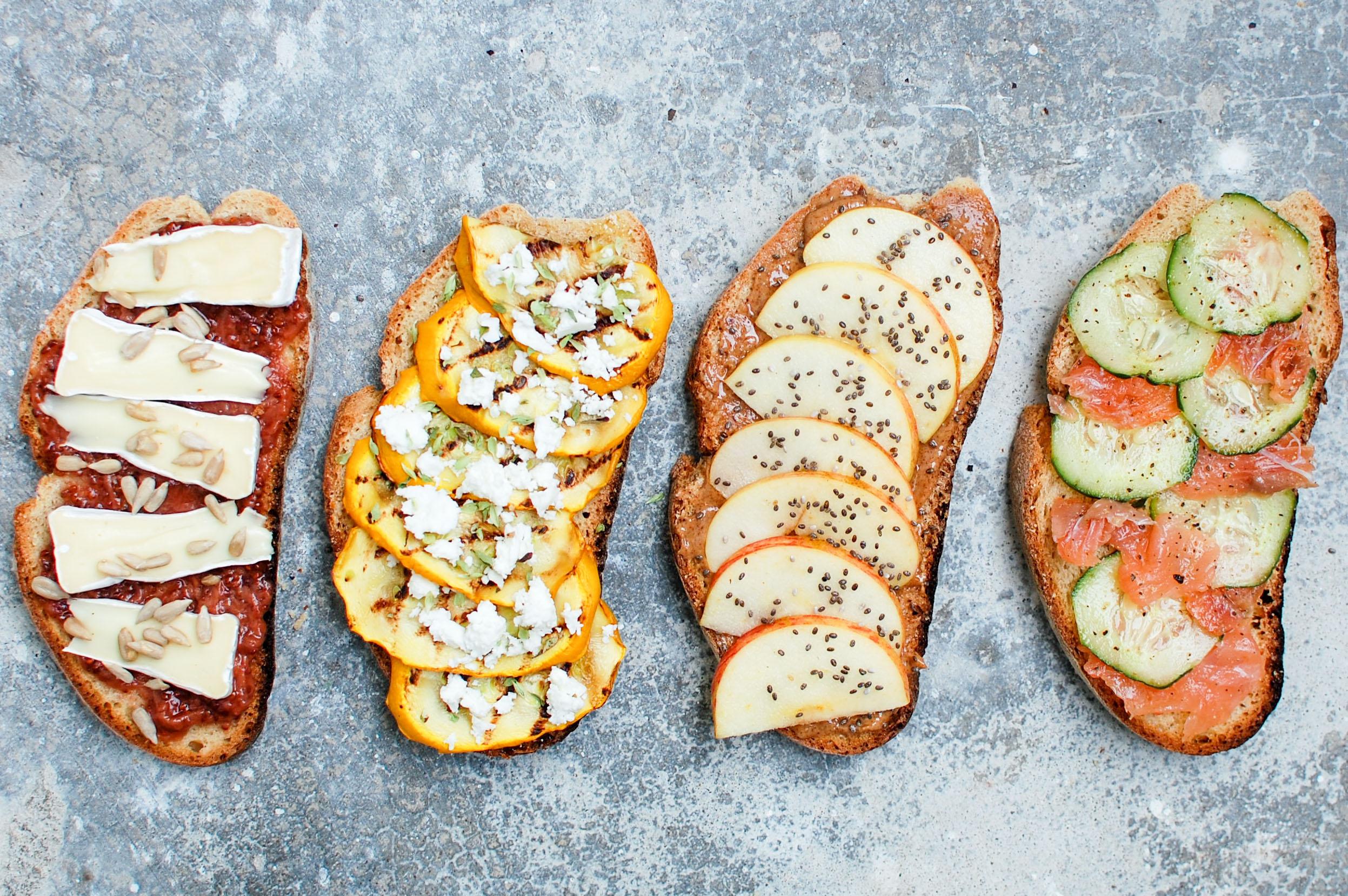4 sanduíches saudáveis para levar