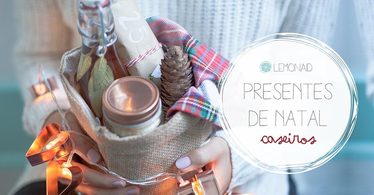 Presentes de Natal Caseiros - novo e-book!