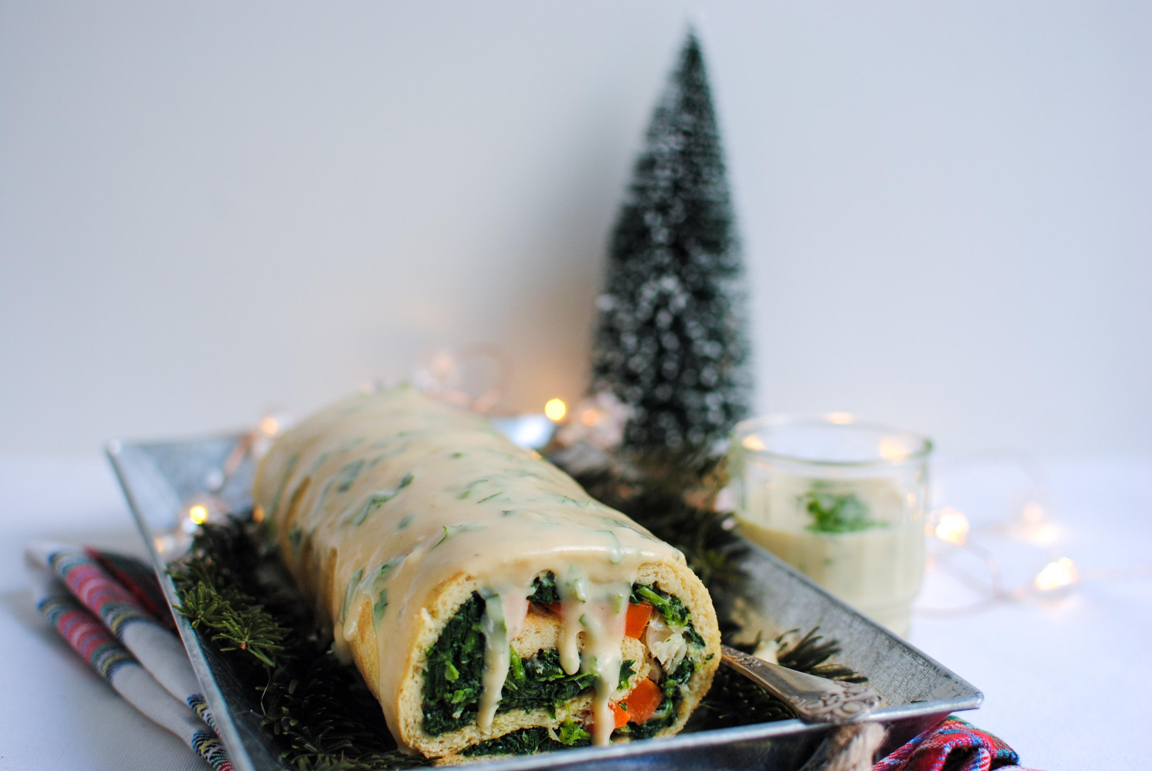 Torta de Roupa Velha (ou o que fazer ao bacalhau do Natal)