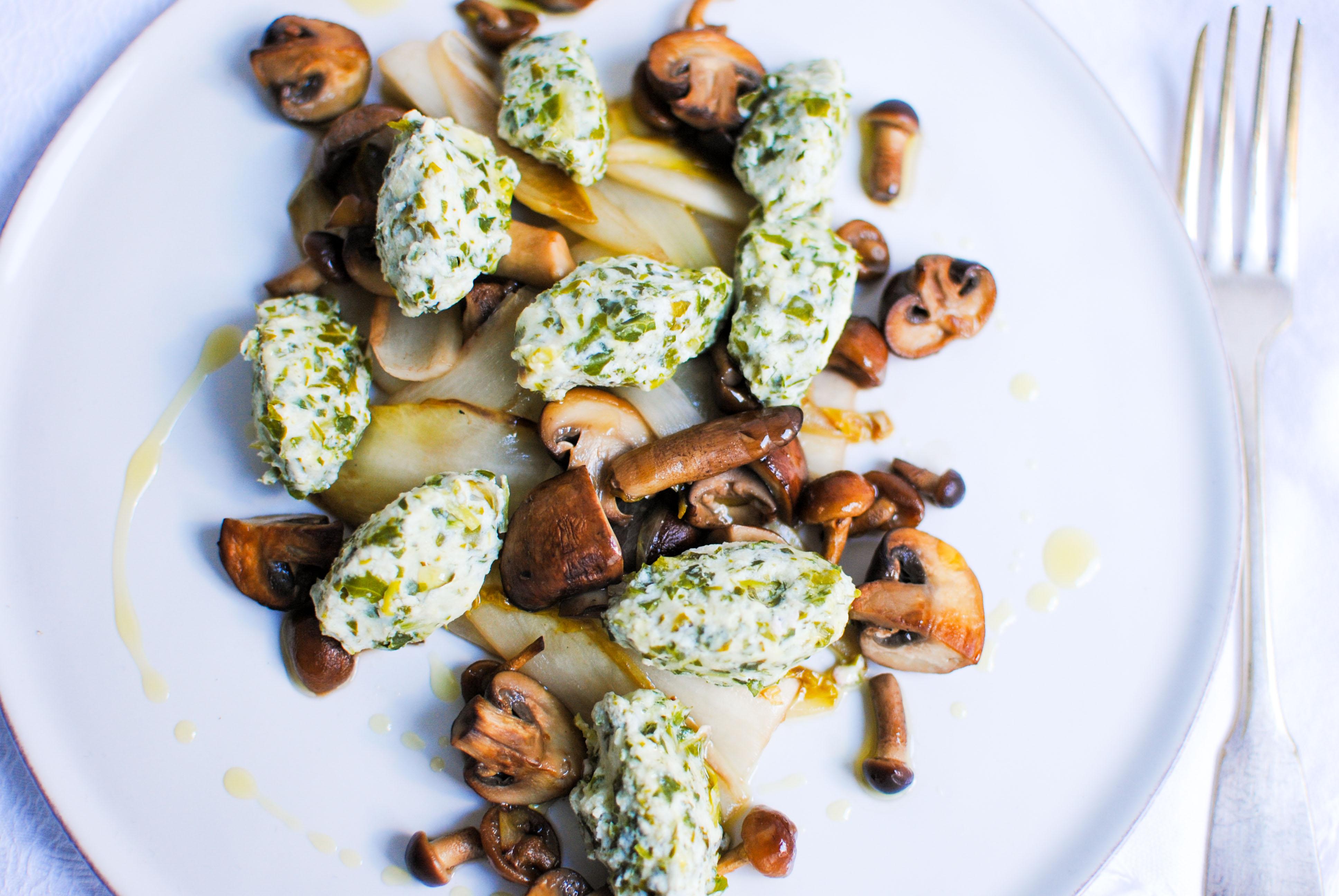 Gnocchis Verdes (sem batata e sem farinha)
