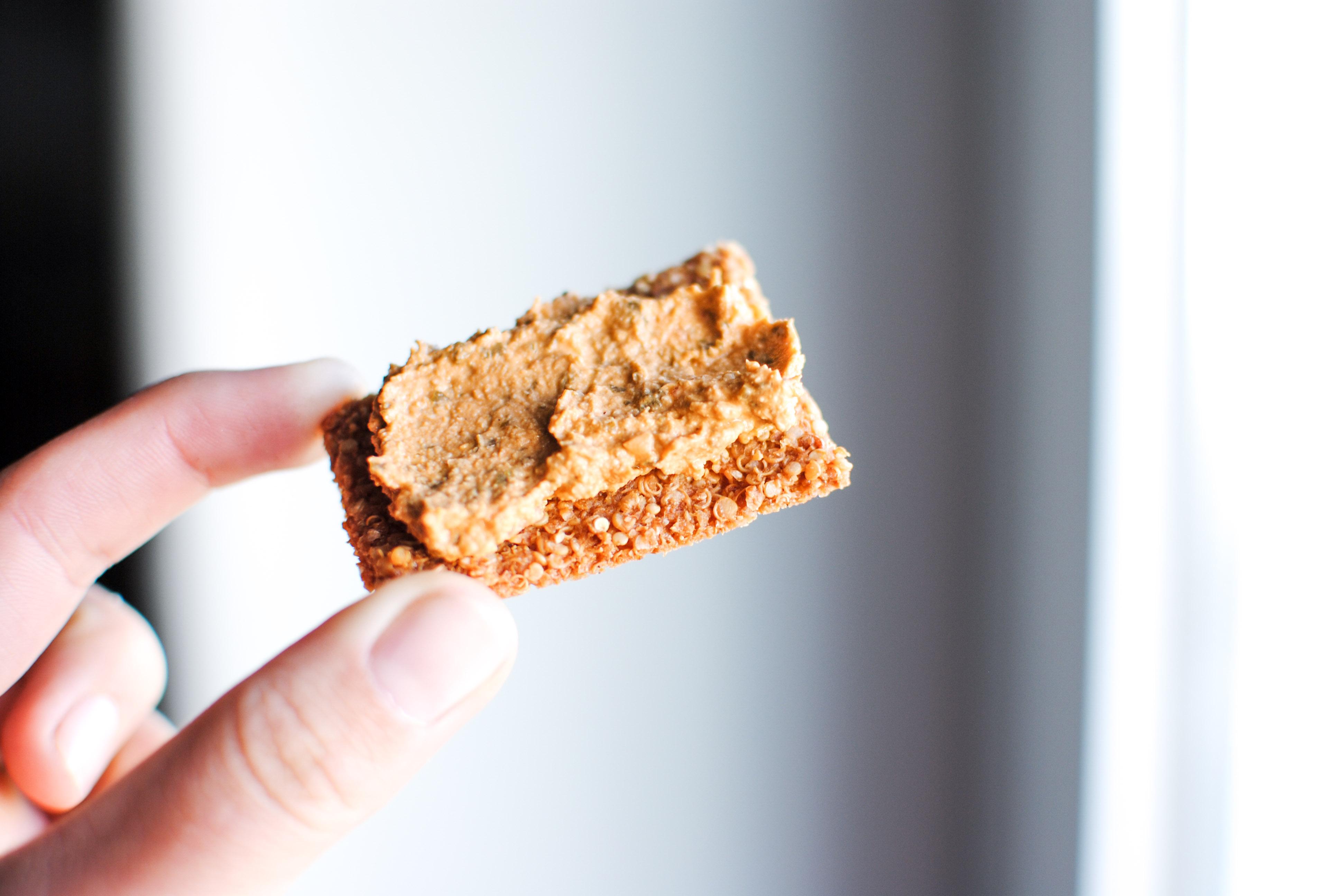 Crackers Proteicas de Quinoa