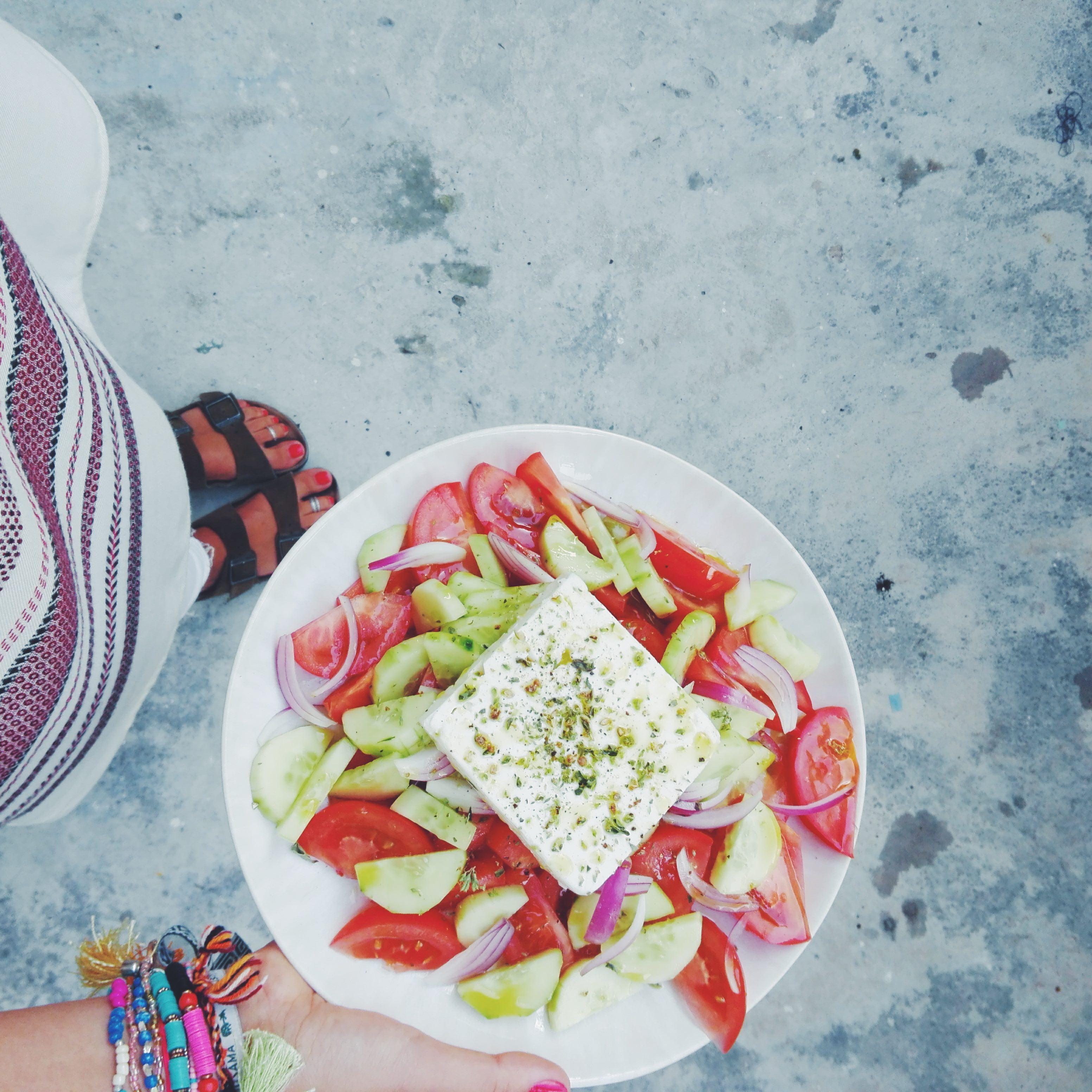 Do meu IG #6 : Salada Grega Tradicional
